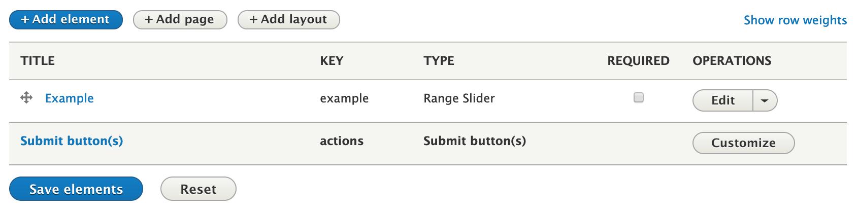 Range Slider | Drupal org