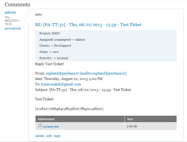 Emails not displaying in html format & noname html !!! [#2070761