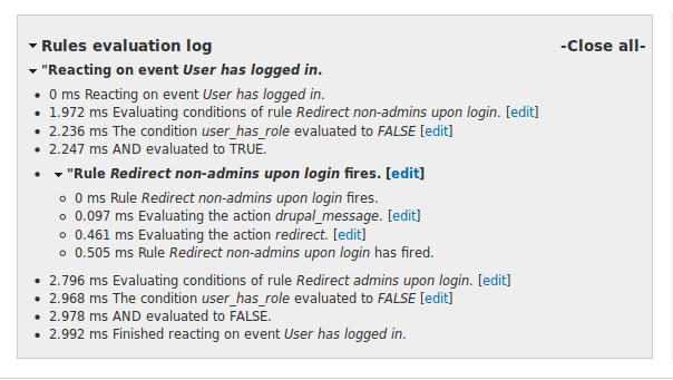 Tools for testing & debugging Rules | Drupal org