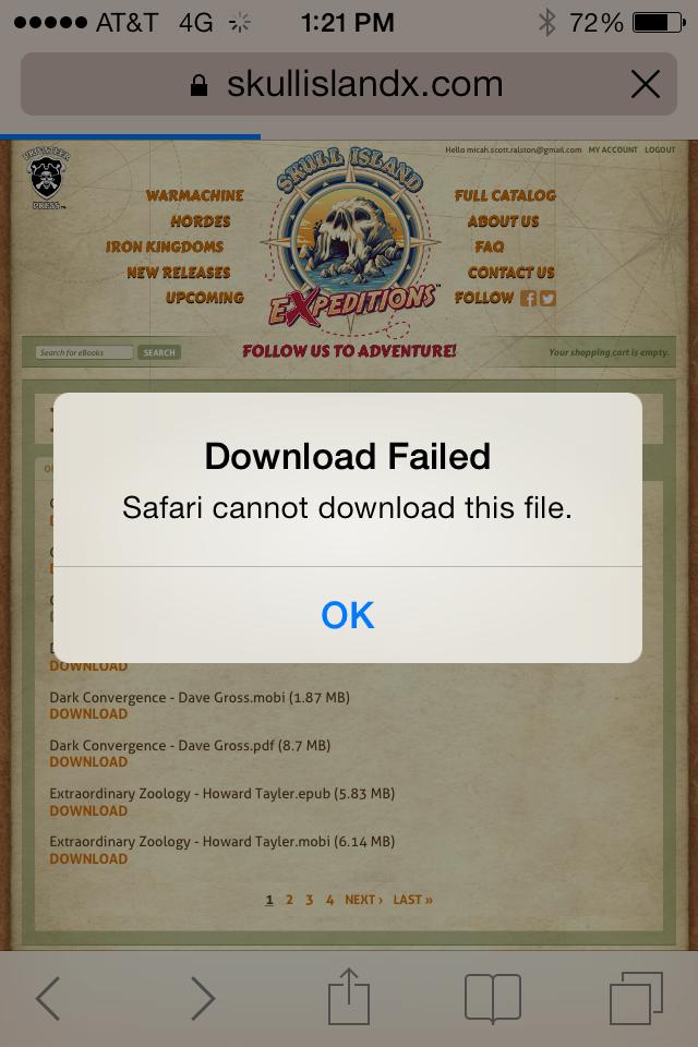 Ipad Safari Cannot Pdf File