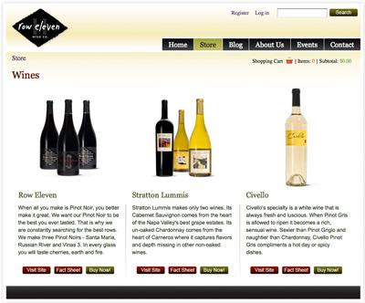 Row Eleven Wine Co. – Multi-domain E-Commerce Site | Drupal.org