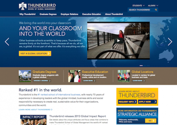 Thunderbird Homepage