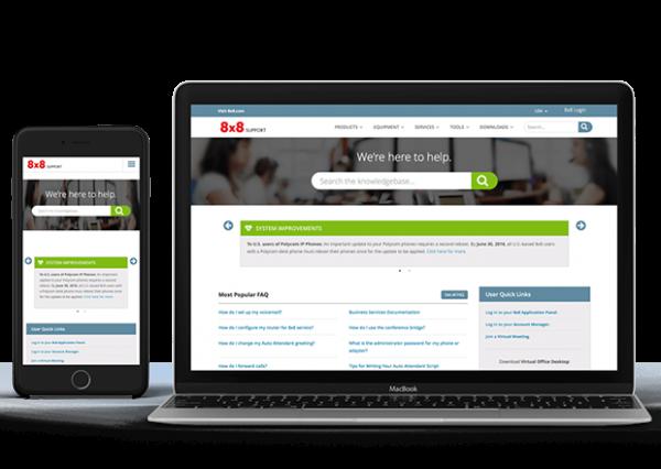 8 x 8 Knowledge Base Website