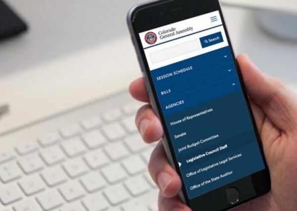 Colorado General Assembly Drupal Website