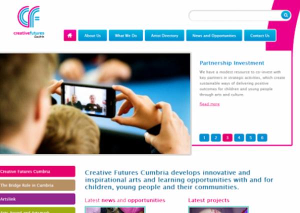 Creative Futures Cumbria | Hydrant