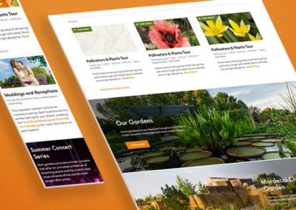 Denver Botanic Gardens banner