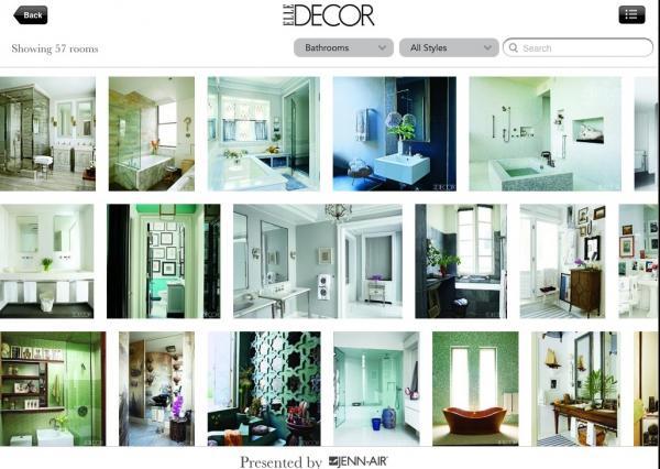 Elle Decor Lookbook App screenshot