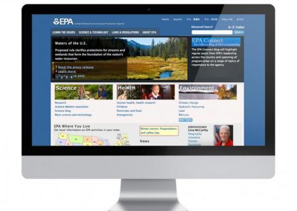 EPA Homepage