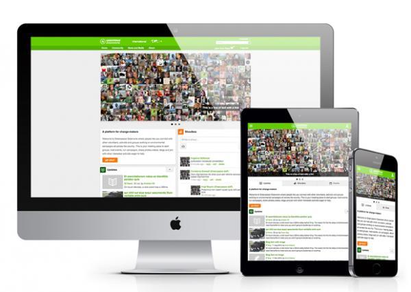 Greenpeace Greenwire global Drupal community