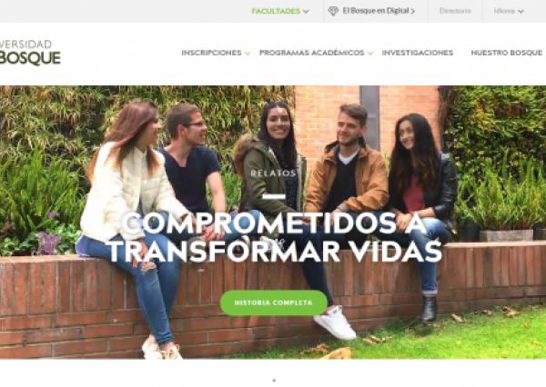 Home Universidad El Bosque - Drupal 8 - Seed EM