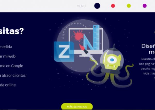 Zoocha Spain homepage
