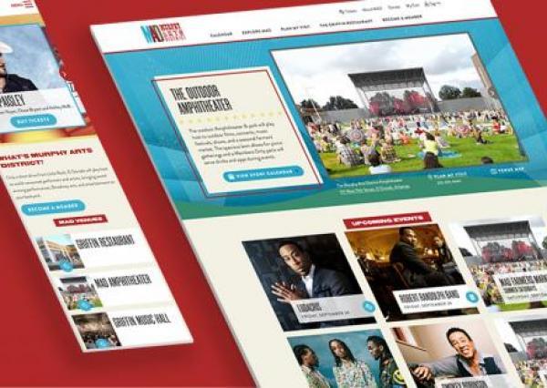 Murphy Arts District Drupal 8 website
