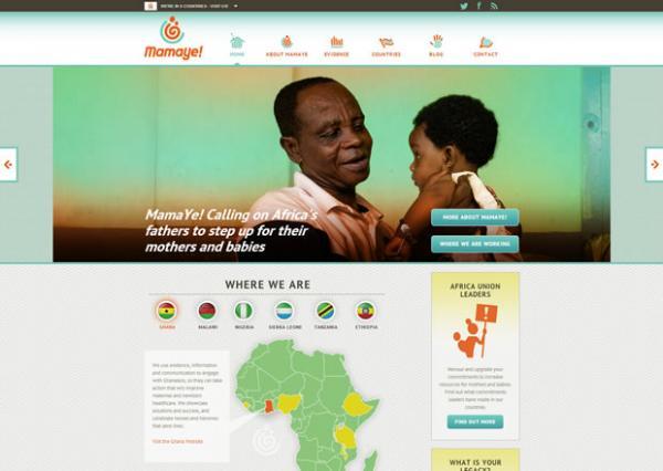 MamaYe homepage