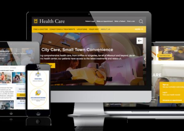 University of Missouri Health Care Drupal Website