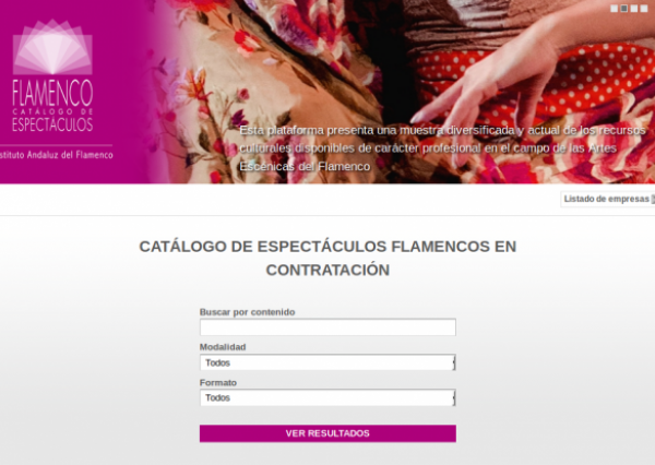 Rojomorgan Drupal Case Study Catalog of Flamenco Shows in Andalusia one