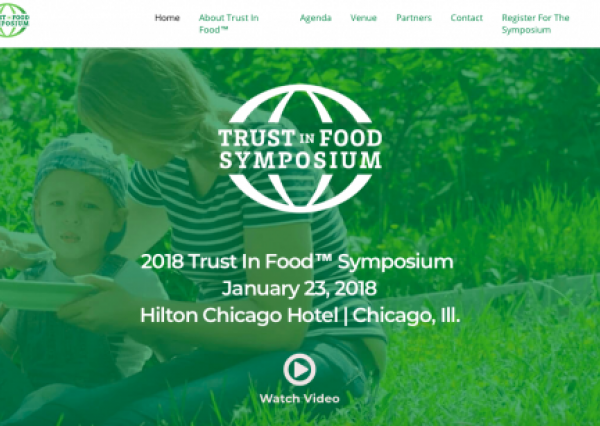 trust in food symposium