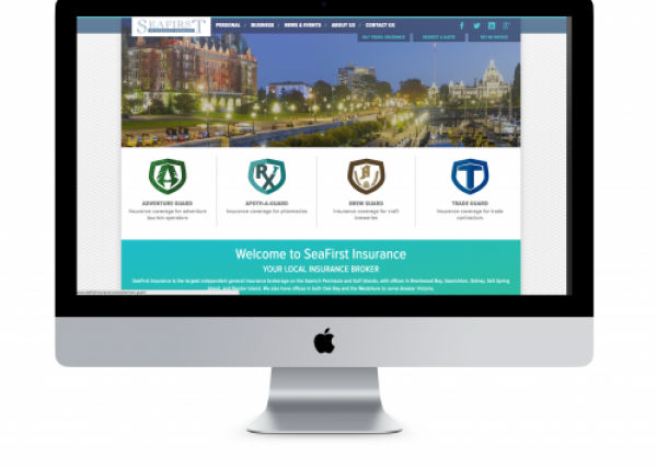 SeaFirst Insurance Drupal 8 Website Development