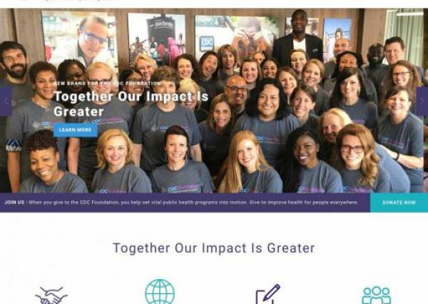CDC Foundation Home Page