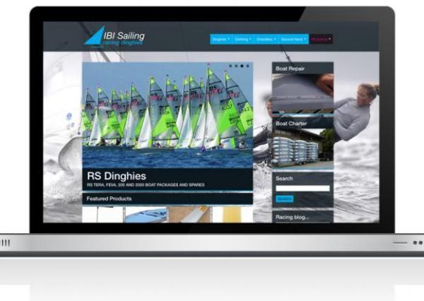 IBI Sailing Ecommerce Website