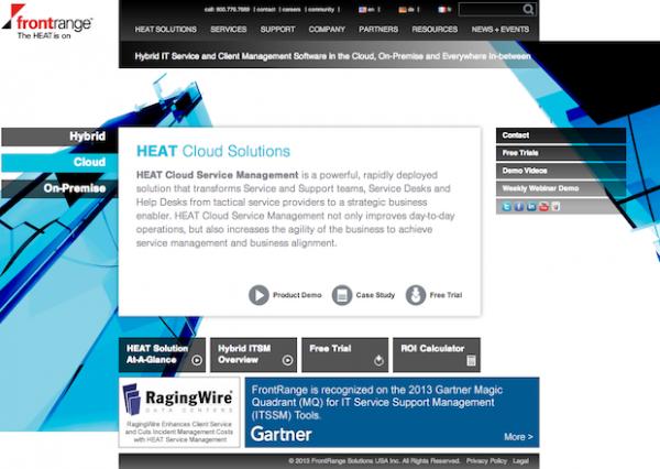 FrontRange Solutions (HTML5)