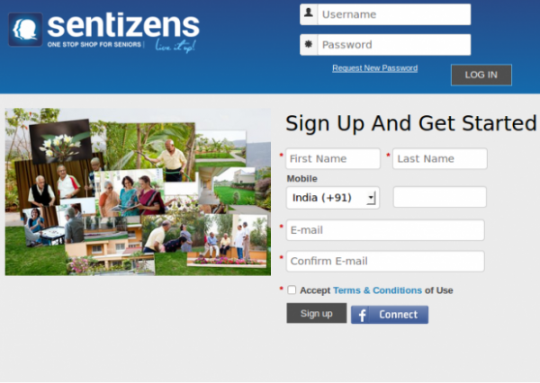 Sentizens Home Page - site in Drupal by faichi