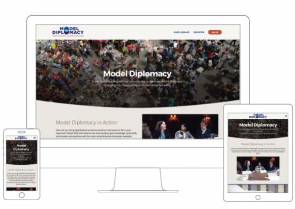Model Diplomacy homepage