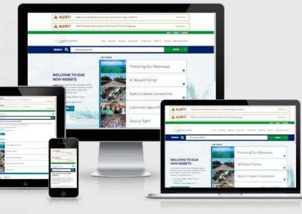 Martin County's new Drupal website is responsive to meet Floridians on the go.