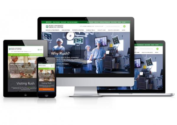 Drupal Hospital Website - Rush University Medical Center