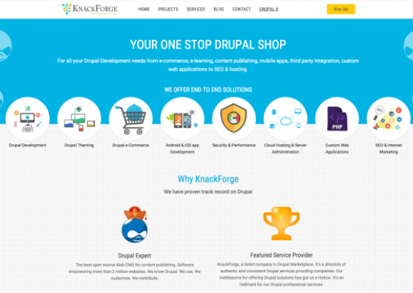 KnackForge Homepage