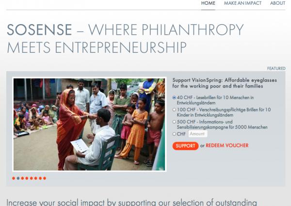 Sosense - Your Social Impact