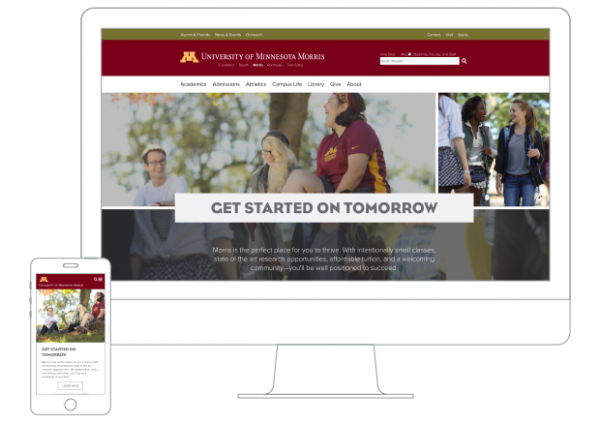 UMN Morris homepage