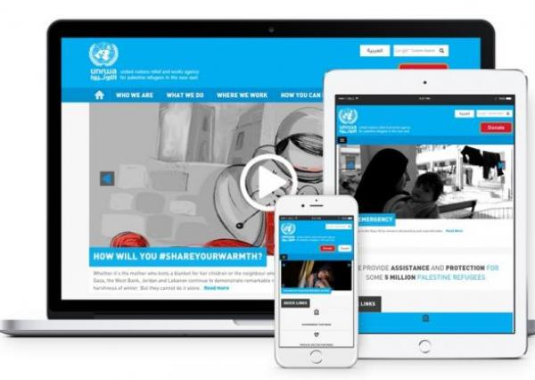 The United Nations Relief and Works Agency (UNRWA) Website