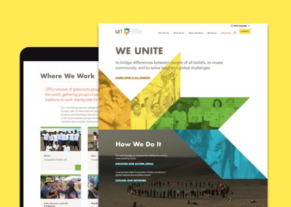 URI.org Responsive Home Page