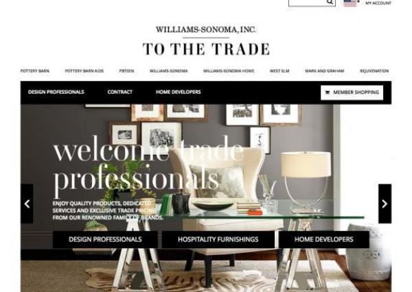 Williams-Sonoma To The Trade Portal