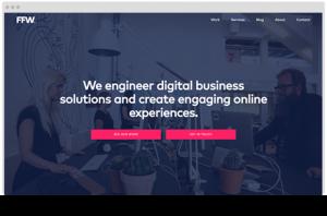 FFWagency.com - Drupal 8 website