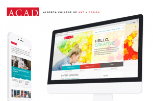 Alberta College of Art + Design (ACAD) Responsive Design