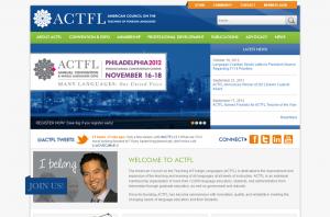 ACTFL Multi-System Integration Homepage