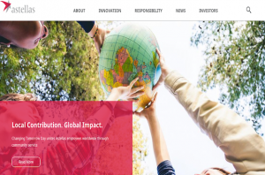 Astellas Corporate Website Platform