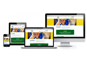 Campagna Center Responsive Site by New Target