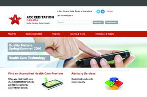 Accreditation Canada Drupal Homepage