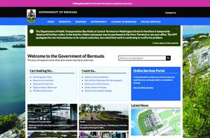 Government of Bermuda Drupal Homepage