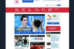 Paralympic.ca Homepage Drupal