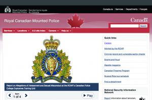 RCMP Drupal Homepage