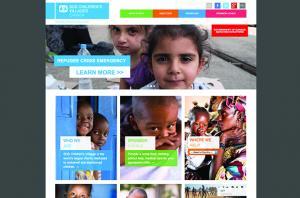 SOS Children's Villages Canada Drupal Homepage