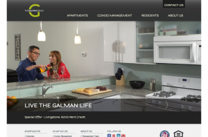 Galman Group's Web & Mobile Site Development by eCity Interactive