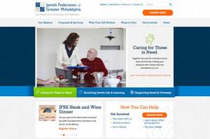 Jewish Federation of Greater Philadelphia Website by eCity Interactive
