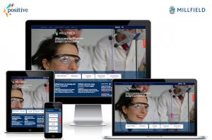 Millfield School, Responsive Website Design and Build by Positive