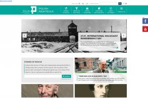 BlueSoft for POLIN Museum - Screenshot of a new portal