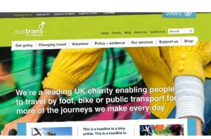 Sustrans Case Study from Sift Digital