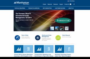 Manhattan Associates Drupal 8 Redesign Homepage